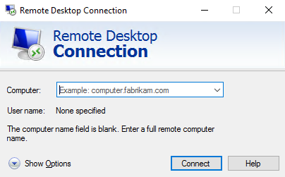 RDC (Remote Desktop Connection)